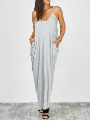 Cami Summer Casual Maxi Robes - Gris