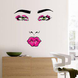 Pretty Pout Pattern Removable Personalised Vinyl Wall Sticker