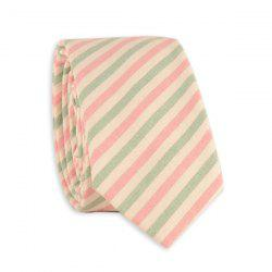 Diagonal Stripe Neck Tie