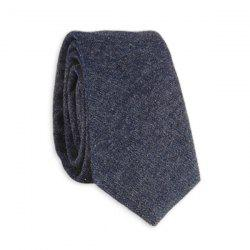 Denim Cotton Blend Neck Tie