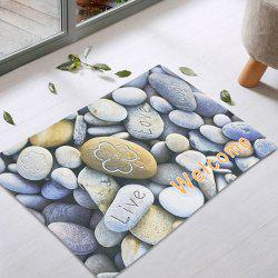 Cobblestone Non-Slip Door Entrance Rug