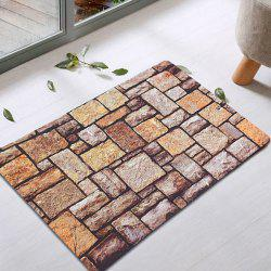 Retro Brick Indoor Absorbent Rubber Rug