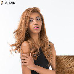 Siv Hair Long Shaggy Wavy Side Part Lace Front Human Hair Wig