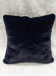 Plush Soft Bedroom Square Pillow Case