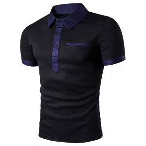 Fake Pocket Polo T-Shirt