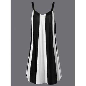 Swing Striped Casual Daytime A Line Dress