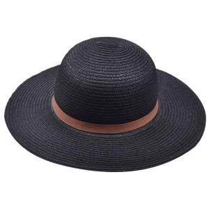 Bow Band Cloche Sun Straw Hat -