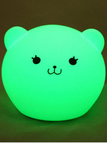 Outfits Cartoon Color Changing USB LED Nightlight WHITE