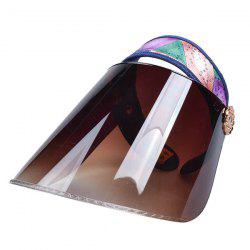 Anti UV Sequin Sweatband Sun Visor