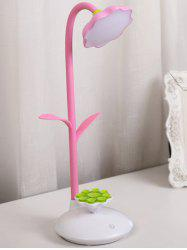 Sunflower Shape Rotating Rechargeable LED Table Lamp