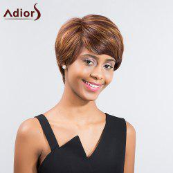 Adiors Colormix Side Bang Silky Straight Short Synthetic Wig