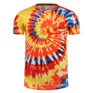 Tie Dye All Over Print T-Shirt