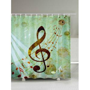 Music Score Bathroom Shower Curtain