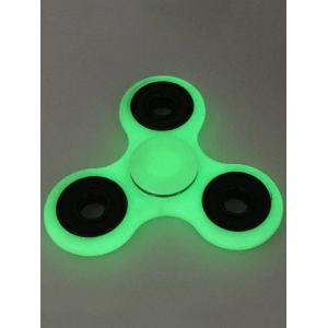 Plastic Moulded Glow in the dark Finger Spinner - GRAY