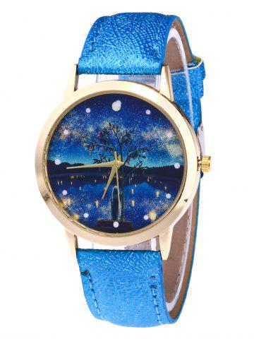 Outfit Glitter Strap Tree Starry Night Watch