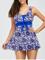 Padded Floral One Piece Swimwear