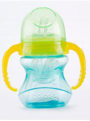 Melado Baby Feeding Straw Drinking Bottle with Handles -