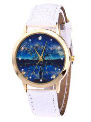 Glitter Strap Tree Starry Night Watch -