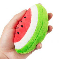 Son Production Peluche Watermelon - Rouge