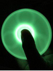 Plastic Moulded Glow in the dark Finger Spinner