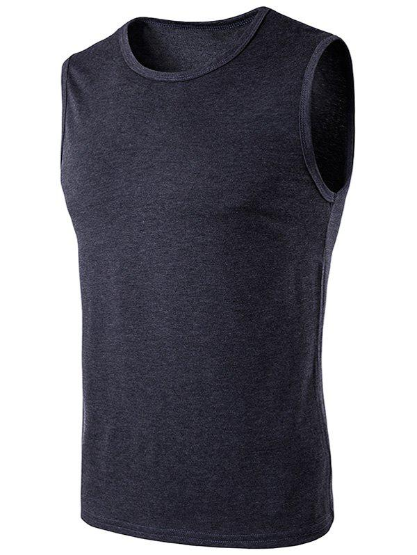 Online Crew Neck Sleeveless T-Shirt