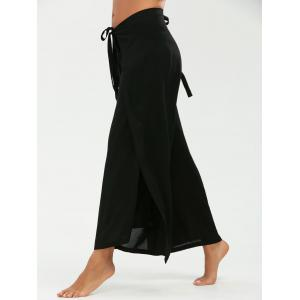 Convertible Multi Way Wrap Pants - Black - M