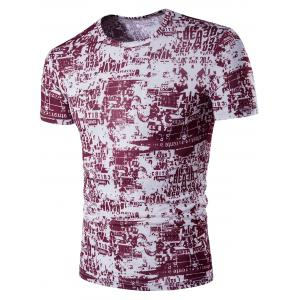 All Over Print Graphic T-Shirt