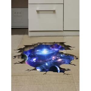 Ceiling Floor Decor 3D Galaxy Planet Wall Stickers -