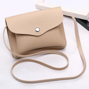 Envelope Cross Body Min Bag - Apricot - 39