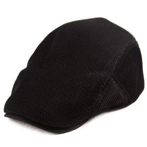 Breathable Mesh Insert Ivy Hat - Black - One Size