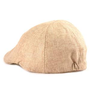 Plain Linen Fabric Ivy Hat -
