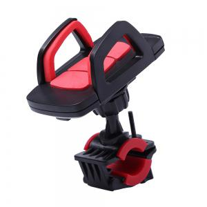360 Degree Rotation Adjustable Mobile Phone Mount Holder Stand - Red With Black