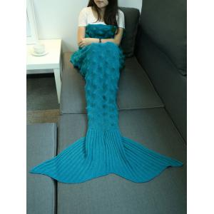 Main Hedgehog design en maille Mermaid Blanket -