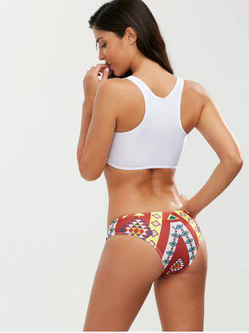 Online Crop Top Bikini with Pineapple Print - XL COLORMIX Mobile