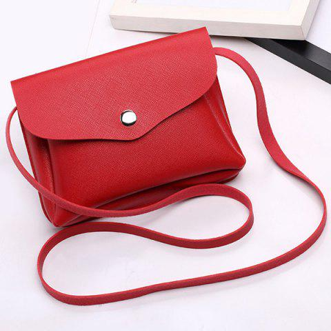 Outfit Envelope Cross Body Min Bag RED