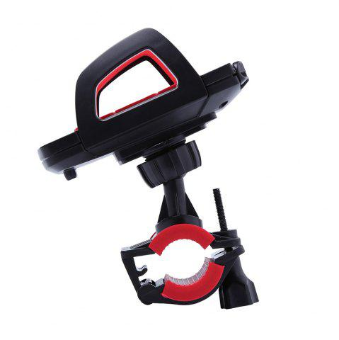 New 360 Degree Rotation Adjustable Mobile Phone Mount Holder Stand - RED WITH BLACK  Mobile