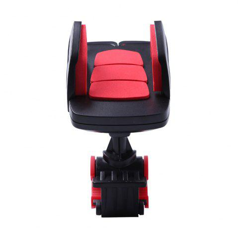 Trendy 360 Degree Rotation Adjustable Mobile Phone Mount Holder Stand - RED WITH BLACK  Mobile
