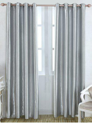 Trendy Grommet Thermal Insulated Window Blackout Curtain