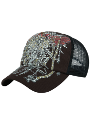Totem Printed Hot Drilling Baseball Hat