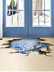 3D Stereo Sky Ceiling Floor Decor Wall Stickers