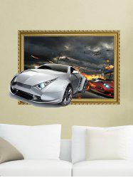 3D Car Removable Wall Sticker Home Decor