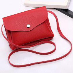 Envelope Cross Body Min Bag - RED