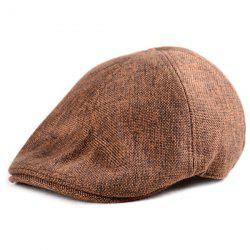 Plain Linen Fabric Ivy Hat