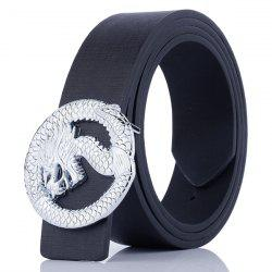 Dragon Shape Embellished Wide Belt