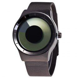 Alloy Strap Vortex Ombre Quartz Watch -
