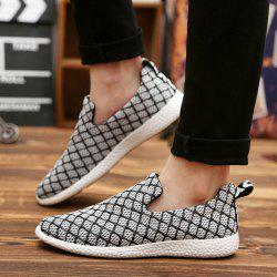 Color Block Breathable Casual Shoes