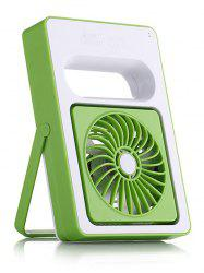 Home Office Mini USB Ventilateur de bureau rechargeable - Vert