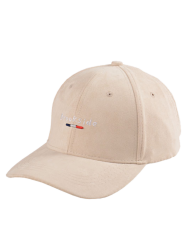 Faux Suede Baseball Hat with Brookside Embroidery
