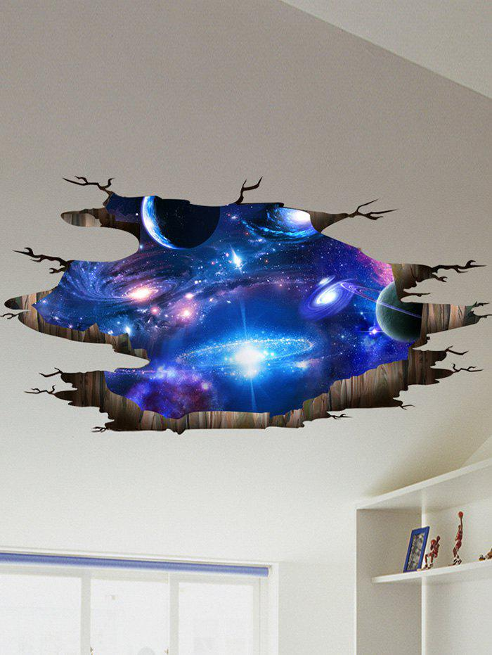 Online Ceiling Floor Decor 3D Galaxy Planet Wall Stickers