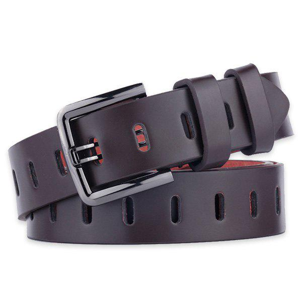 Buy Filmstrip Style Wide Belt with Pin Buckle